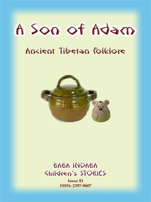 cover image of A SON OF ADAM--A Tibetan Folktale